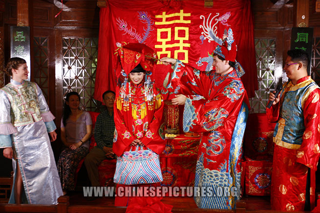 American-Chinese Wedding Photo 5